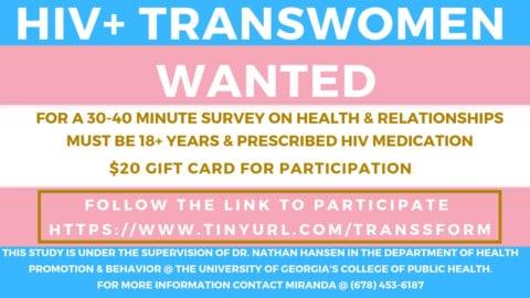 Transwoman Research Program